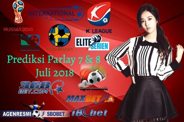 Prediksi Parlay Jitu 7 & 8 JULI 2018