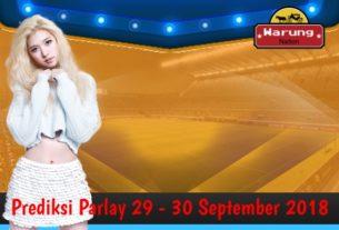 Prediksi Parlay 29 - 30 September 2018