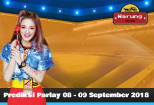 Prediksi Parlay 08 - 09 September 2018