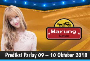 Prediksi Parlay 09 – 10 Oktober 2018