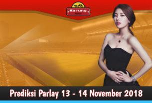 Prediksi Parlay 13 - 14 November 2018