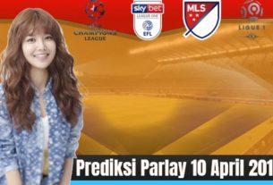 Prediksi Parlay 10 April 2019